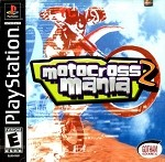 Motocross Mania 2 - PS1 Video Game