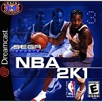 NBA 2K1 - Sega Dreamcast Video Game