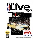 NBA Live 96 - Sega Genesis Video Game