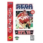 NFL '95 - Sega Genesis Video Game
