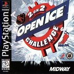 NHL Open Ice Challenge - PS1 Video Game