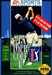 PGA Tour Golf II - Sega Genesis Video Game