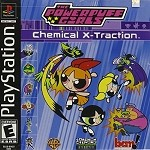 Powerpuff Girls Chemical X-Traction - PS1 Video Game