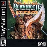 Romance of the Three Kingdoms IV: Wall of Fire - PS1 Video Game
