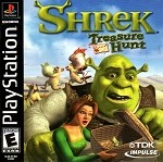 Shrek Treasure Hunt - PS1 Video Game