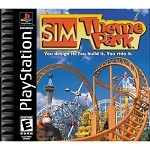 Sim Theme Park - PS1 Video Game