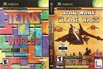Star Wars: The Clone Wars / Tetris Worlds - Original Xbox Video Game
