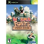 Worms Forts Under Siege - Original Xbox Video Game