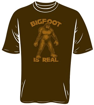 Bigfoot Is Real T-Shirt (Size: Medium)