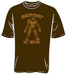 Bigfoot Is Real T-Shirt (Size: Small)