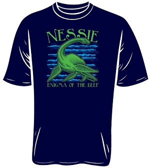 Nessie Loch Ness Monster T-Shirt (Size: Large)