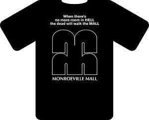 Monroeville Mall Dawn of the Dead T-Shirt (Size: Small)